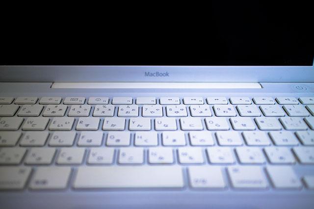 白いMacBook