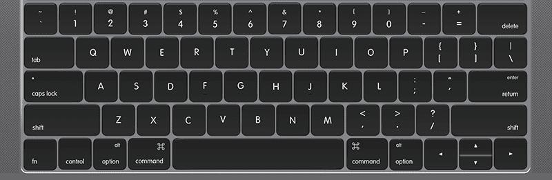 Mac用USキーボード