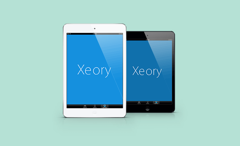 XeoryとiPadのイメージ