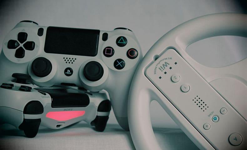 ゲームのコントローラー