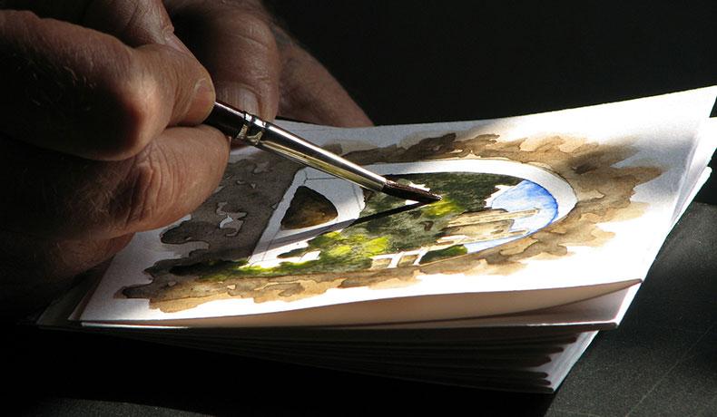 絵を描く能力