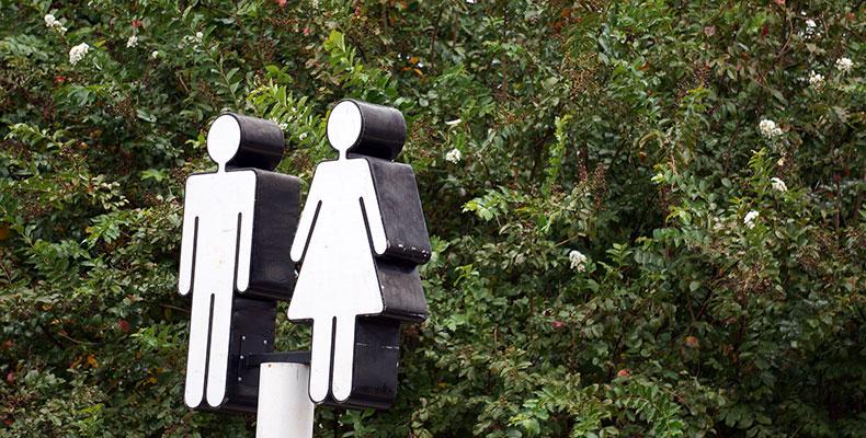 男女格差のイメージ