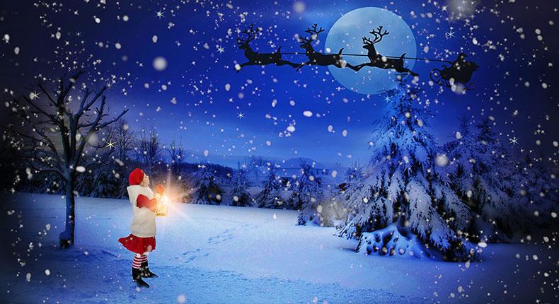 クリスマスのイメージフォト
