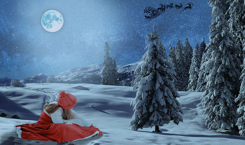 クリスマスのイメージCG